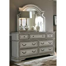 dresser with mirror. Contemporary Mirror Magnolia Manor Antique White 7Drawer Dresser And Scroll Mirror Set With