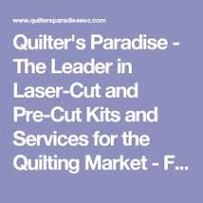 The Best Sites For Buying Quilt Fabric At Bargain Prices ... & Quilter's Paradise - The Leader in Laser-Cut and Pre-Cut Kits and Services Adamdwight.com