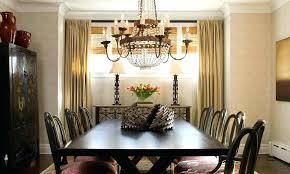 size of chandelier for dining room dining table chandeliers crystal beaded chandelier over dining table dining