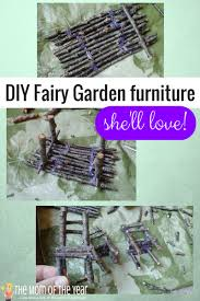 how to make fairy garden furniture. Fine Make Have You Heard About The Magic Of Fairy Gardens Hereu0027s Simple Howto With How To Make Fairy Garden Furniture R