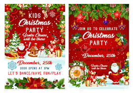 Christmas Holiday Invitations Christmas Party And New Year Holiday Invitation
