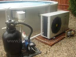 installation of swimming pool heat pumps 3 base