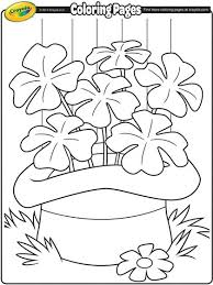 St Patricks Day Coloring Saint Patricks Day Coloring Page From Crayola Your