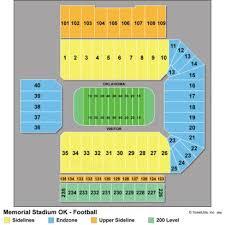 Oklahoma Stadium Seating Ou Sooner Football Stadium Seating