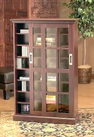 wood bookcase with glass doors alluring door bookshelves design ideas brown tall wooden come s m l f source