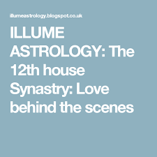 Draconic Chart Calculator Illume Astrology The 12th House Synastry Love Behind The
