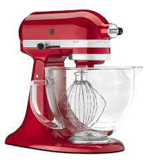 Designer Kitchen Aid Mixers Kitchenaidar Artisanar Design 5qt Tilt Head Stand Mixer Glass Bowl