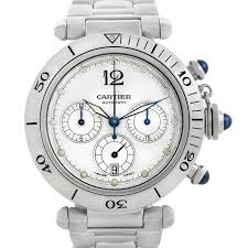 swisswatchexpo men s rolex atlanta dealers cartier watches cartier pasha seatimer chronograph steel mens watch w31030h3