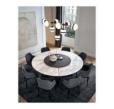 white round marble dining table and chairs top by design 1