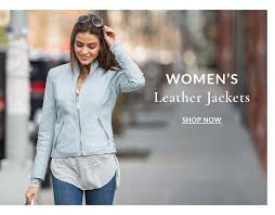 women s leather jackets now