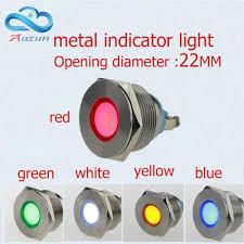 22mm Indicator Lights Flash Alarm Indicator Buzzer Light 22mm 12v 24v 110v 220v