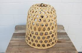 basket pendant light. Reed Dome Basket Lantern With Pendant Light T