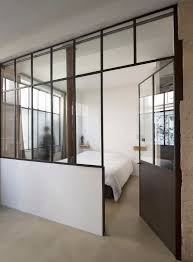 glass wall dividers office. delighful wall loft in paris by maxime jansens glass doorglass wallsloft  inside wall dividers office s