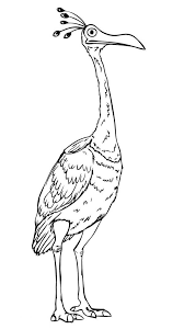 Small Picture Beautiful Disney Up Character Kevin the Bird Coloring Page NetArt