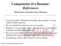 How To Include Keywords In Your Resume Qualifications Sample LiveCareer References  Resume Who Should You Include