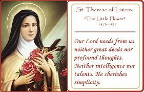 St Therese Of Lisieux Quotes 22 Best Catholic News World Catholic Quote To SHARE By St Therese Of