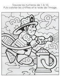 11 Dessins De Coloriage Pompiers Maternelle Imprimer