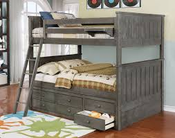 Bedroom: Inspiring Bed Style Ideas With Cozy Full Over Full Bunk   Regarding Full Size