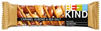 <b>Ореховый батончик Be-Kind</b> Caramel Almond & Sea Salt, 40 г ...