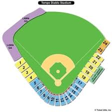 Tempe Diablo Stadium Seating Chart Tempe Diablo Stadium Seating Chart