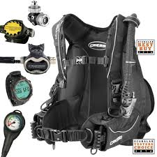 Cressi Travel Light Package Cressi Ultralight T10 Sc Travel Pro Scuba Gear Package
