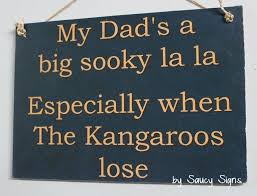 details about sooky dad north melbourne sign aussie rules bar shed man cave kangaroos wooden