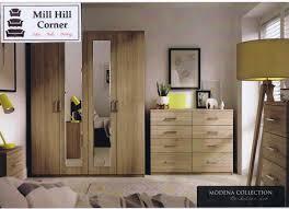 Ready Assembled Bedroom Furniture Uk Modena Bedroom Range Mill Hill Corner