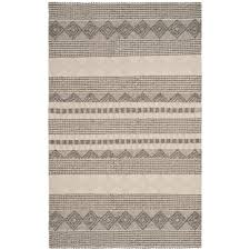 safavieh natura gray ivory 6 ft x 9 ft area rug