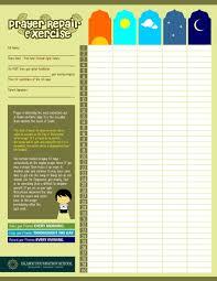 Salah Chart Entry 14 By Dipta165 For Design A Prayer Chart Freelancer