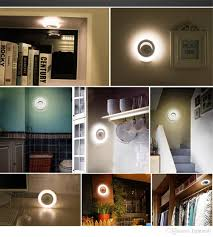 battery powered indoor lighting. wonderful lighting best smart sensor body led nightlight motion automatic wall light indoor  cabinet lamp battery powered soft for child baby home decor under 751  throughout lighting e