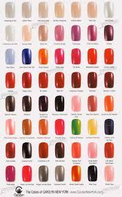 Nyc Nail Polish Color Chart New York Nail Polish Colors Love These Nail Polishes