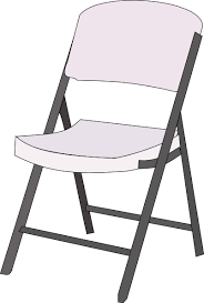 chair clipart black and white. chair clipart black and white: white l