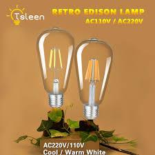 led lights for chandelier. Image Is Loading E27-Old-Edison-Filament-COB-LED-Bulbs-Chandelier- Led Lights For Chandelier H