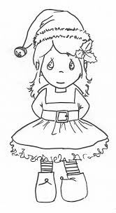 precious moments girl elf coloring page   Coloring Pages ...