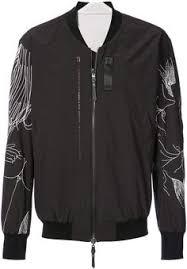 <b>Marcelo Burlon</b> County of Milan panelled sleeve <b>bomber jacket</b> ...