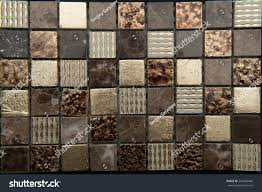 bathroom brown tiles texture. Interesting Tiles Texture Mosaic Tiles Bathroom To The Kitchen Floor And Walls  Are Used Repair Premises Structure Design Decor  EZ Canvas Inside Bathroom Brown Tiles Texture I