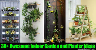 39+ Awesome Indoor Garden and Planter Ideas