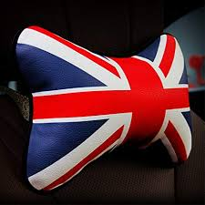 Mr.Dakai 1 PCS Union Jack Design PU Leather Car ... - Amazon.com