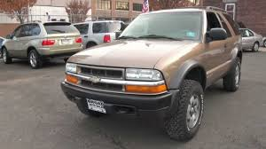 2002 Chevrolet Blazer LS ZX-2 5-Speed 4x4 - YouTube
