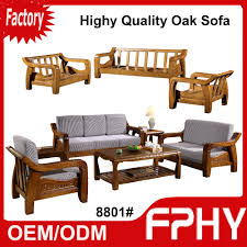 Solid Living Room Furniture Manufacturer Fphy Living Room Furniture Solid Wood Sofa Set