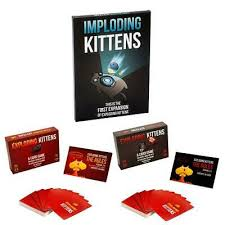 Brand New <b>IMPLODING KITTENS GREAT PARTY</b> GAME Perfect ...
