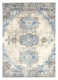plush area rugs 8x10 blue ivory distressed oriental area rugs