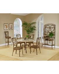hillsdale brookside dining set. hillsdale brookside 5-piece round dining set with oval back chair (5 piece, a