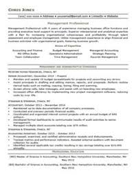 Forest Green Mid-Level Resume Template