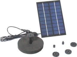 solar fountain water pump for bird bath