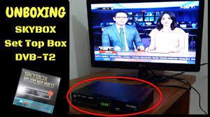 UNBOXING] Nonton TV DIGITAL Jadi MUDAH Dengan SKYBOX SET TOP BOX DVB-T2 -  YouTube