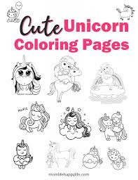 Print and color unicorns pdf coloring books from primarygames. The Cutest Free Unicorn Coloring Pages Online Momlifehappylife