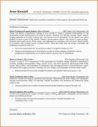 Dentist Resume Stunning 40dentist Resume Sample Pdf Statement Letter