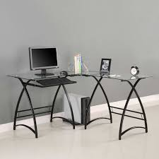 glass desks for home office. Amazing Glass Office Desk 5244 Fice For Gorgeous And Modern Design Desks Home