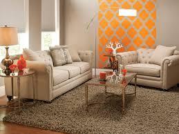 Orange Living Room Set Raymour And Flanigan Chairs On Raymour Flanigan Living Room Set